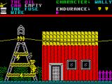 Everyone's A Wally (The Life of Wally) ZX Spectrum Watch out for the flying lightning bolts coming from the power lines