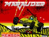 Marauder ZX Spectrum Loading screen