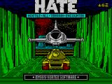 H.A.T.E. ZX Spectrum Loading screen