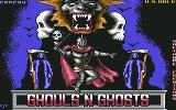 Ghouls 'N Ghosts Commodore 64 Title