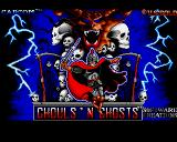 Ghouls 'N Ghosts Amiga Title
