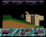 Ghouls 'N Ghosts Amiga King Arthur the skeleton