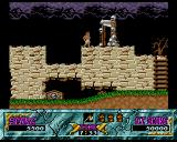 Ghouls 'N Ghosts Amiga Watch out for the guillotine