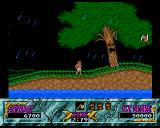Ghouls 'N Ghosts Amiga Walking through a forest