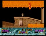 Ghouls 'N Ghosts Amiga Area full of lava