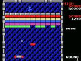 Arkanoid MSX Gameplay on the first level