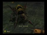 Turok 2: Seeds of Evil Nintendo 64 This fellow is also guilty. But, he is blind now and soon wont have a head.