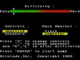 The Duel: Test Drive II ZX Spectrum Main menu