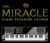 The Miracle Piano Teaching System SNES Title screen.