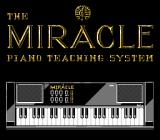 The Miracle Piano Teaching System NES Title screen.