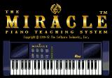 The Miracle Piano Teaching System Genesis Title screen.