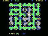 "Zenji MSX A large maze; run over the ""3"" for bonus points!"