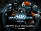 Star Wars: Republic Commando Windows Title Screen