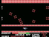 Thexder MSX Flying underneath some trouble