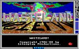 Wasteland DOS Title Screen (EGA)