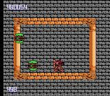 Metal Storm NES Level 4, where you stand in a moving box