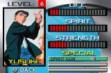 Yu Yu Hakusho: Ghost Files - Spirit Detective Game Boy Advance Gaining levels increases those attributes.
