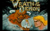 Wrath of the Demon DOS Title screen