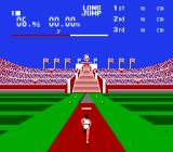 Stadium Events NES Long jump