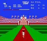 Stadium Events NES Triple jump