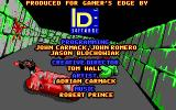 Catacomb 3-D DOS Credits screen