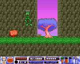 Quik the Thunder Rabbit Amiga A frog with antennas on its head? Wow!