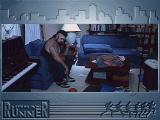 Urban Runner Windows 3.x Max finds a thug in his apartment.