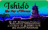 Ishido: The Way of Stones Lynx Title screen