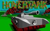 Hovertank One DOS Title screen