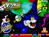 Super Seymour Saves the Planet ZX Spectrum Loading screen