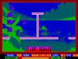 Super Seymour Saves the Planet ZX Spectrum Level completed