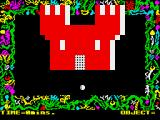 Cagara ZX Spectrum The initial castle