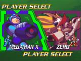 Mega Man X4 Windows Player Select