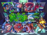 Mega Man X4 Windows Level Selection Screen (Mega Man X)