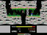 H.E.R.O. MSX Trapped, better blast this wall with dynamite