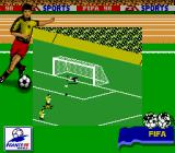 FIFA 98: Road to World Cup Game Boy Nice save!