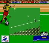 FIFA 98: Road to World Cup Game Boy Throw in.