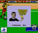 FIFA: Road to World Cup 98 Game Boy Can't ever catch a break.
