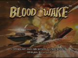 Blood Wake Xbox Title Screen