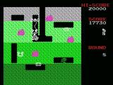 Dig Dug MSX 200 points for destroying an enemy, but more are on the way!