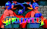 Gauntlet Amstrad CPC Title screen