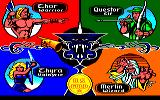 Gauntlet Amstrad CPC Choose a character!