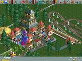 RollerCoaster Tycoon Windows A simple park