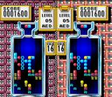 Tetris & Dr. Mario SNES Mixed Match game 2: a massive viral disinfection with Dr. Mario's vitamin capsules.