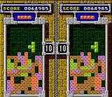 Tetris & Dr. Mario SNES Mixed Match game 3: putting highest scores in Tetris A-TYPE.