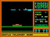 Finders Keepers ZX Spectrum And here you land