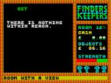Finders Keepers ZX Spectrum I don't get it