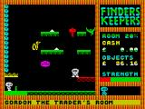 Finders Keepers ZX Spectrum On a ledge