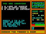 Finders Keepers ZX Spectrum How would the medal and the catmeat combine?