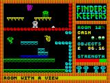 Finders Keepers ZX Spectrum Two distinct sections to this room
